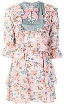 For Love & Lemons floral-print dress
