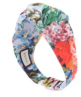 Gucci Printed silk headband