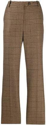 Aspesi checked tailored trousers
