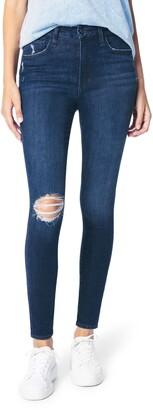 Joe's Jeans The Hi Honey Distressed High Waist Skinny Jeans
