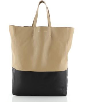 Celine Vertical Bi-Cabas Tote Leather Large