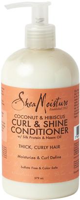 Shea Moisture Coconut& Hibiscus Curl & Shine Conditioner