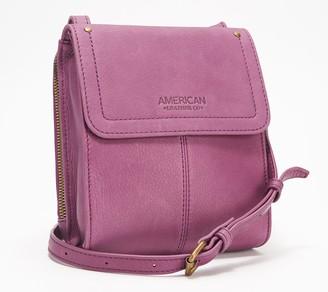 American Leather Co. Vintage Leather Crossbody - Kansas
