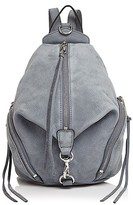 Rebecca Minkoff Julian Medium Nubuck Backpack