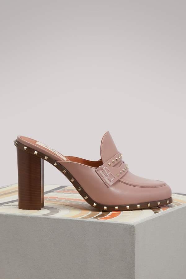 Valentino Rockstuds slippers