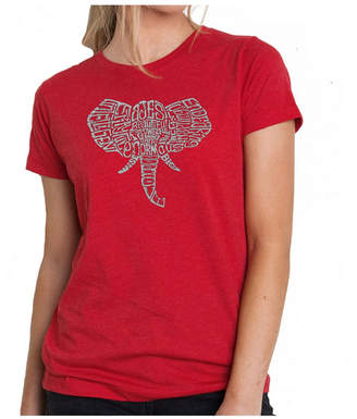 Women Premium Word Art T-Shirt - Elephant Tusks