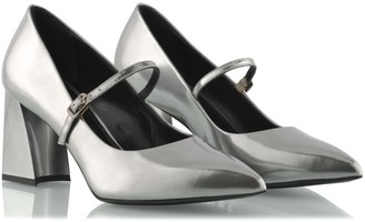 Ganor Dominic Luna Silver Pumps