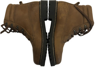 Non Signã© / Unsigned Camel Leather Boots