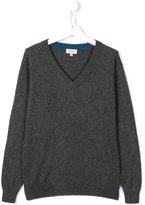 Cashmirino - V-neck jumper - kids - Cashmere - 14 yrs