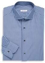 Boglioli Regular-Fit Striped Cotton Dress Shirt