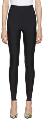 Versace Black Basic Leggings