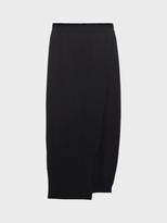 DKNY Pure Merino Wool Midi Tulip Skirt