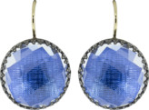 Larkspur & Hawk Azure Foil Olivia Button Earrings