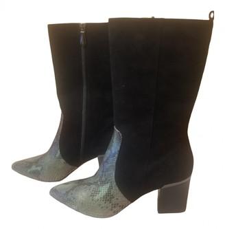 Reed Krakoff Black Exotic leathers Boots