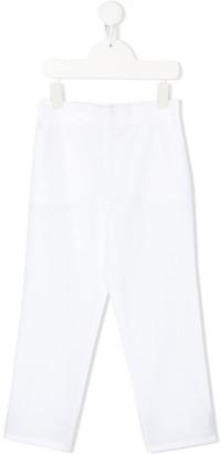 Philosophy Di Lorenzo Serafini Kids Embroidered Logo Trousers