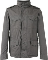Tod's cargo pocket jacket - men - Cotton/Polyester - L