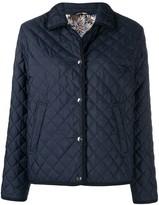 Salvatore Ferragamo short padded jacket