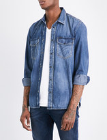 Diesel D-rooke regular-fit denim shirt