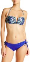 Mara Hoffman Peacock V-Wire Bikini Top