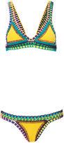 Kiini Yellow Crochet Ro Bikini