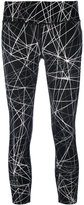 DKNY cropped leggings - women - Nylon/Spandex/Elastane - XS