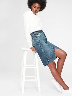 Gap Denim Pencil Skirt