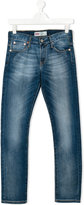 Levi's Kids - stonewashed slim-fit jeans - kids - Cotton/Spandex/Elastane - 14 yrs