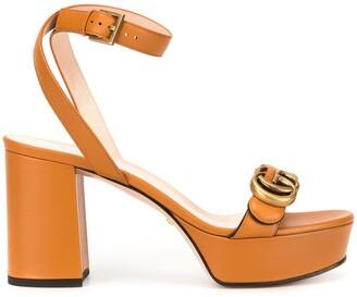 Gucci GG platform sandals