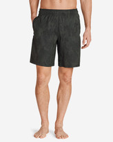 Eddie Bauer Men's Meridian Unlined Shorts - Patterned