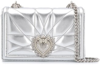 Dolce & Gabbana small Devotion quilted crossbody bag