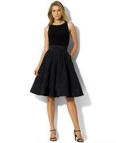 Lauren Ralph Lauren Pleated Cocktail Dress