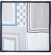Loewe Printed Silk Scarf - Blue