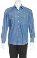 Tom Ford Chambray Western Shirt
