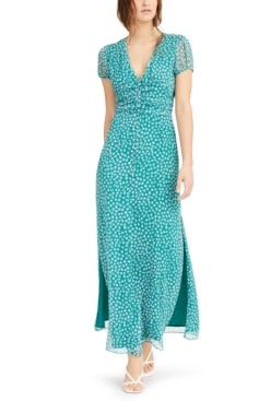 Bar III Printed Chiffon Maxi Dress, Created for Macy's