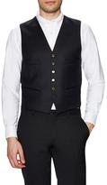 The Kooples Solid V-Neck Vest