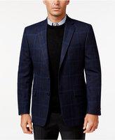 Lauren Ralph Lauren Men's Classic-Fit Blue Windowpane Sport Coat
