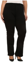 NYDJ Plus Size Plus Size Isabella Trousers in Black