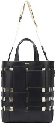 Burberry Foster Small leather bucket bag