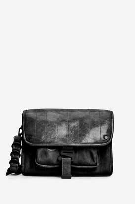 Next Womens Black Across-Body Bag With Tonal Hardware Detail - Black