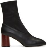 Helmut Lang - Bottes en cuir noires S