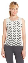 Pink Lotus Women's Chevron Yoga Tank
