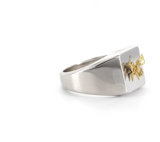 Origami Jewellery Signet Ring Pegasus
