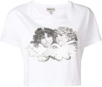 Fiorucci Tavi cropped T-shirt