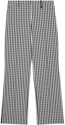 Burberry Woven Check Trousers