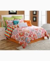 Fiesta Ava Reversible Queen Comforter Set