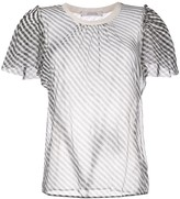 Schumacher Dorothee sheer T-shirt blouse