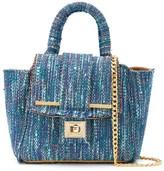 Alila small tweed tote bag