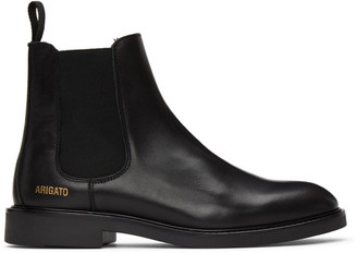 Axel Arigato Black Leather Chelsea Boots