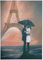 Graham & Brown Kissing in Paris Wall Art