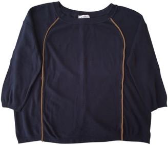 Max & Co. Blue Cotton Knitwear for Women